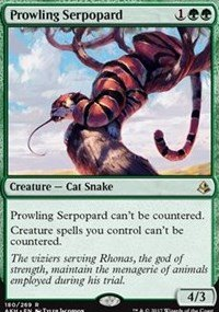 Prowling Serpopard - Amonkhet