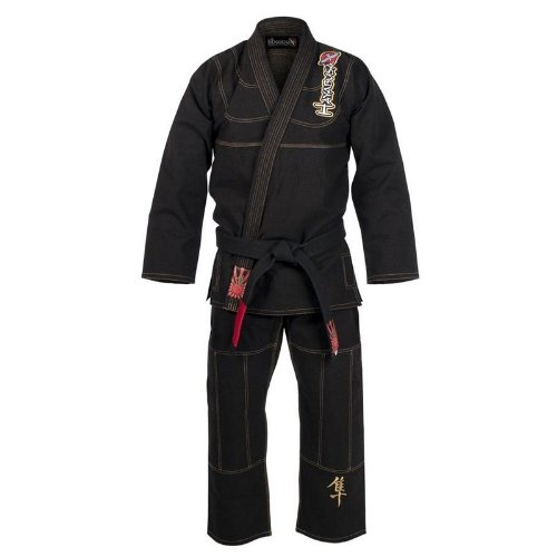 Hayabusa Pro Jiu Jitsu Gi A1 Uniform, Black (Jiu Jitsu Pro Gear compare prices)