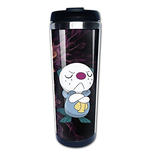 LiZizz Pokemon GO Oshawott Stainless Steel Mug / Coffee Thermos & Vacuum Flask (Charizard Coffee Mug)