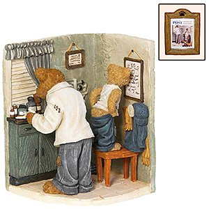 Boyds Norman Rockwell Series ... Before the Shot