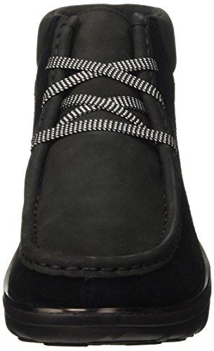 Nero Collo A Scarpe Donna Fitflop Boot Chukkamoc Alto black UqwW0aI