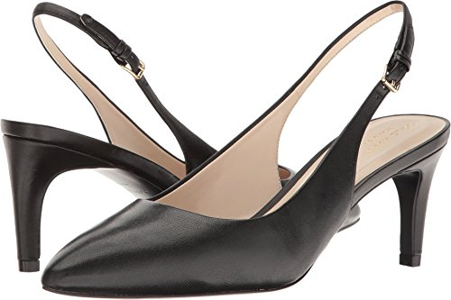 Cole Haan Sling - Cole Haan Women's Medora Sling Pump, Black Leather, 8 B US