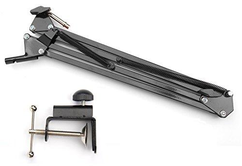 Webcam Mount Desk Clamp Suspension Boom Arm Stand Holder for Logitech Brio 4K, C925e,C922x,C930e Webcam by AceTaken (Image #4)