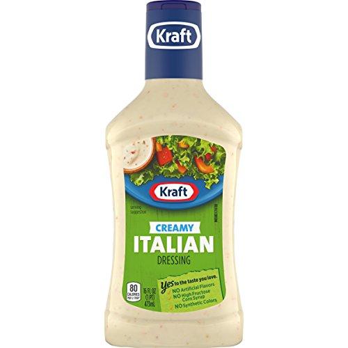 Kraft Creamy Italian Dressing (16 oz Bottles, Pack of 6)