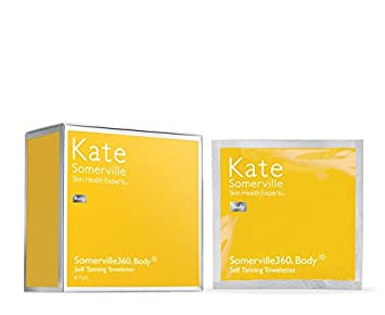 Somerville360 Face and Body Self Tanning Towelettes by Kate Somerville – Self Tanner Lotion 8 Count