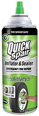 Slime 60190 Quick Spair Tire Inflator with Eco-friendly Formula - 20 oz. by Slime