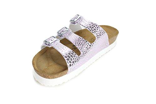 Synsoft Softbedded Women Cork Joyce N Slippers Sandals Leorose Paris Joe wIAaqO1