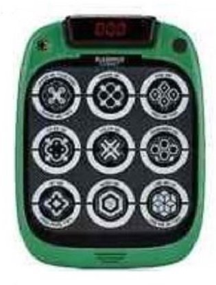 FlashPad Connect Mini Handheld Touchscreen Game with Lights (Ages 3+) Nine Built-in Games - Green
