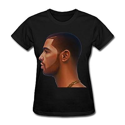 Pop Singer Drake Summer Sixteen Tour 2016 T Shirt For Women Black