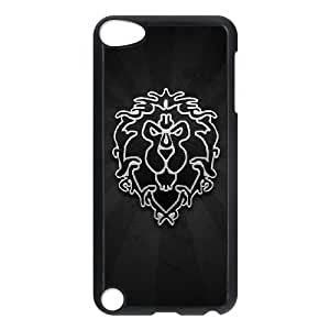 Ipod Touch 5 Phone Case for Classic Game World of Warcraft Theme pattern design GCGWDWC929642