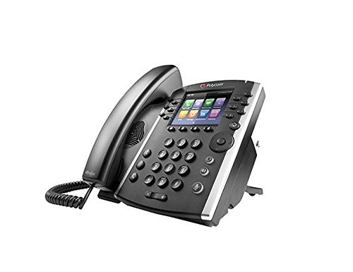 Polycom VVX 401 2200-48400-025 12-line Business Media Phone - AC Adapter Not Included (Certified Refurbished)