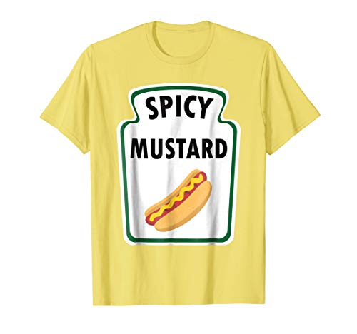 Easy Halloween Costume Mustard Shirt Group Ketchup Relish
