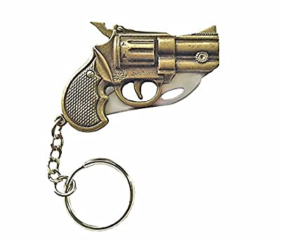 Vintage 1930's Grizzly Stopper .357 Magnum Pistol Push Button Knife - Great Gift for Men!