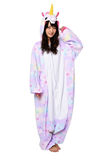 Unicorn Kigurumi (Adults, Pastel & Stars)]()