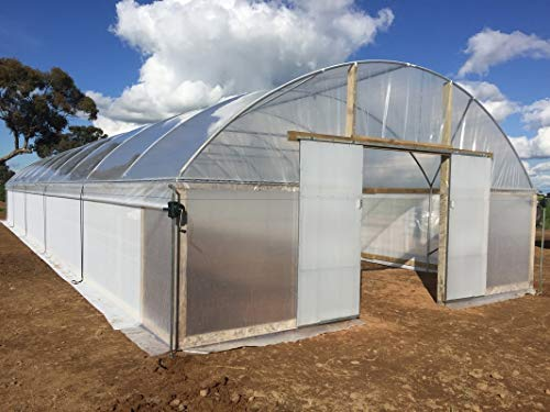 SUNSCOVER Greenhouse Plastic Film Clear Polyethylene Cover UV Resistant, 10 ft Wide x 25 ft Long by SUNSCOVER (Image #6)