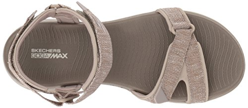 The Sport 15315 Sandal Go On Women's Skechers Taupe 600 O6pqpEw