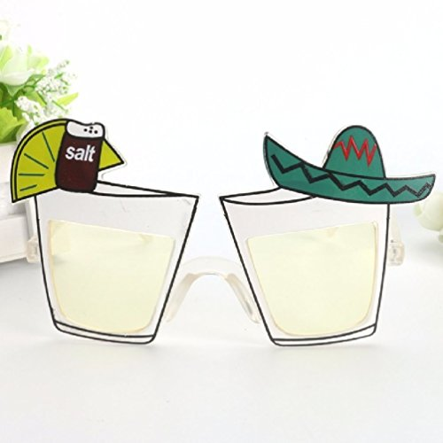 Lemon Juice Cocktail Wine Mexican Style Party Glasses Holiday Beaches Sunglasse Night Bar Club Party Supplies (Food And Wine Halloween Cocktails)