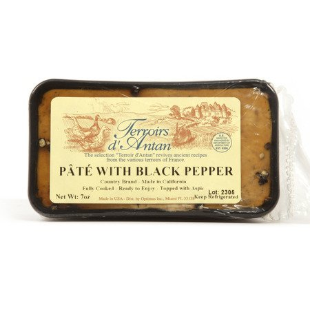 - Country Pate with Black Pepper - All Natural - 1 x 7.0 oz