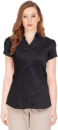 STOP by Shoppers Womens Solid Formal Shirt