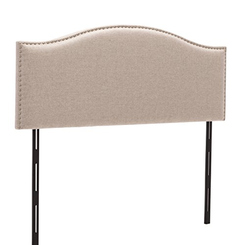 d Button-Tufted Adjustable Headboards Arch King Size (Arch Nail Button Headboard)