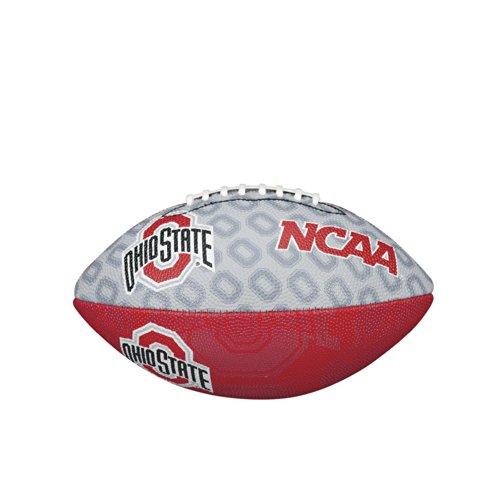 Ncaa Ohio State Buckeyes Team Logo Junior Super Grip Football