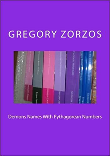 Demons Names With Pythagorean Numbers: Gregory Zorzos