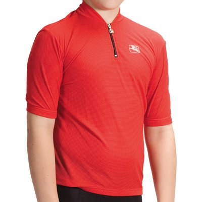 f2d5e18ba Amazon.com   Giordana Youth Strada Junior Cycling Jersey - Red - (GI ...