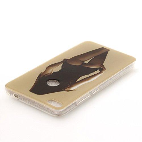 Arrière Lite P8 Fit Honor Huawei Transparent Slim Antichoc 2017 Couverture Scratch Hozor Silicone Téléphone En Lite Résistant TPU Motif Peint 8 Souple Bord De De Cas Protection beauty Cas xYTZqp5wI