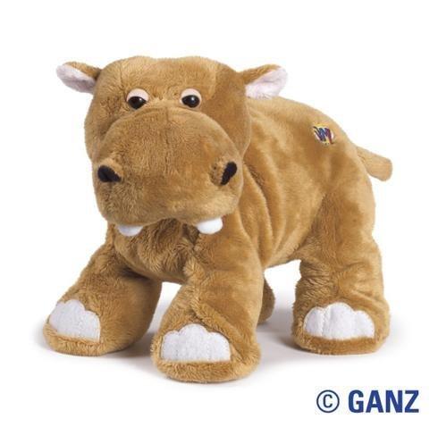 Webkinz Mud Hippo (Brown)