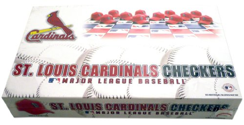 Rival Checkers (MLB St. Louis Cardinals Miniature Helmets Checker Set)