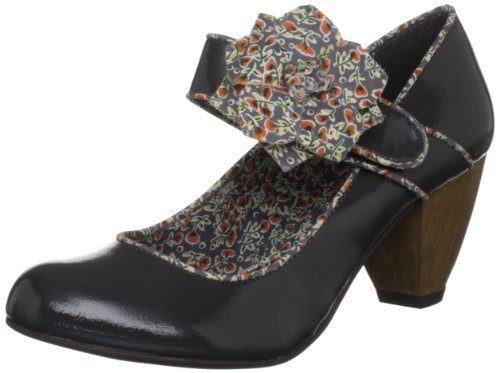 Ruby Shoo Women's Minelli Ankle Strap Heels Grey 05glHXCT