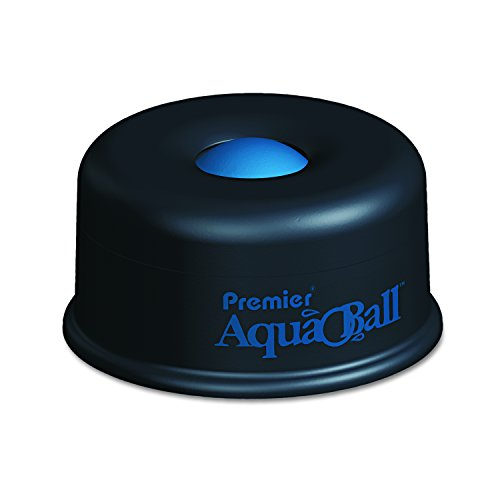 Martin Yale AQ701G Premier AquaBall All Purpose Moistener, Black/Blue; Eliminates the Need for Sponges, Rubber Fingers, or Unsanitary Licking of Fingers ()