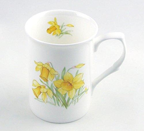 Daffodil Chintz - Fine English Bone China Mug - Staffordshire, England