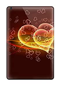 Perfect Tpu Case For Ipad Mini 3/ Anti-scratch Protector Case (flying Hearts) 1291660K79374448