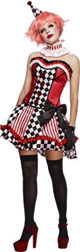 Smiffys Fever Deluxe Clown Cutie Costume, with Corset]()
