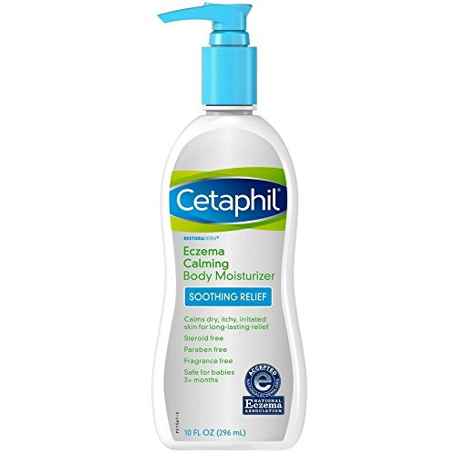 Cetaphil Restoraderm Eczema Calming Body Moisturizer 10 oz (Pack of 2)