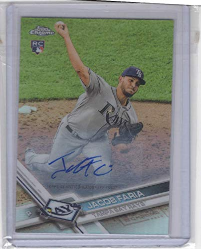 Jacob Faria (Baseball Card) 2017 Topps Chrome Update - Target Exclusive [Base] - Autographs [Autographed] #HMT61