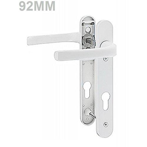 Pro Linea UPVC Door Handles Set Lever/Lever White 92pz - 122mm Screw to Screw - High Quality Door Handle - Modern Design Amazon.co.uk DIY u0026 Tools  sc 1 st  Amazon UK & Pro Linea UPVC Door Handles Set Lever/Lever White 92pz - 122mm Screw ...