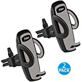 Ailun Car Phone Mount,Air Vent Cellphone Holder Cradle[2Pack] Universal Compatible with iPhone X/Xs/XR/Xs Max/8/8Plus/7,Compatible with Galaxy S9/S9+ S8/S8+,Google,LG,HTC and More Smartphones[Black]