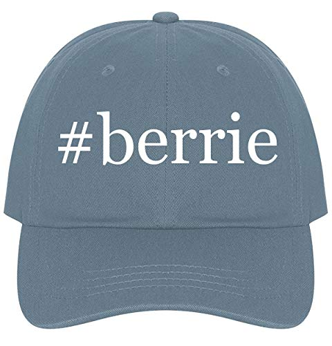 The Town Butler #Berrie - A Nice Comfortable Adjustable Hashtag Dad Hat Cap, Light ()