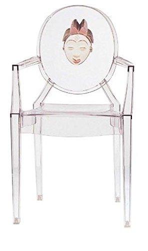 Kartell 4854bb Stuhl 94 X 54 X 55 Cm Plastik Transparent