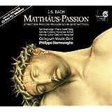 Bach: Matthäus-Passion (St Matthew Passion) BWV 244 /Bostridge · Selig · Rubens · Scholl · Güra · Henschel · Collegium Vocale · Herreweghe [+ CD-Rom]