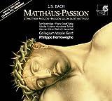 Bach: Matthaus-Passion (St Matthew Passion) BWV 244 /Bostridge * Selig * Rubens * Scholl * Gura * Henschel * Collegium Vocale * Herreweghe (+CD-Rom)