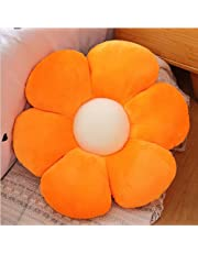 LPFNSF Flower Floor Pillow Seating Cushion, Plush Floor Pillow,Daisy Flower Shaped Cute Pillow for Reading, Bedroom, Watching TV, Flower Cushion Indie Decor