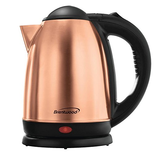 Great Deal! Brentwood 1.7 Liter Rose Gold Electric Stainless Steel Kettle KT-1790RG
