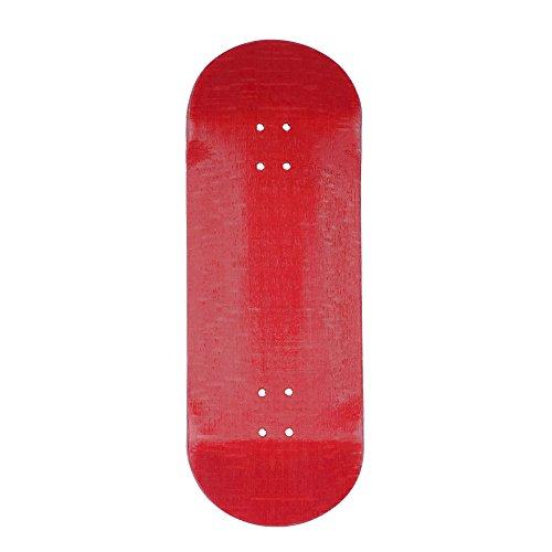 Exodus Spartan II Deep Concave Fingerboard Deck (Red, 32mm)
