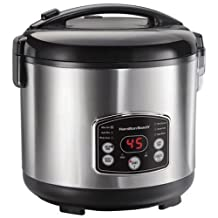 Hamilton-Beach 37549C Digital Simplicity 14 Cup Rice Cooker/Steamer
