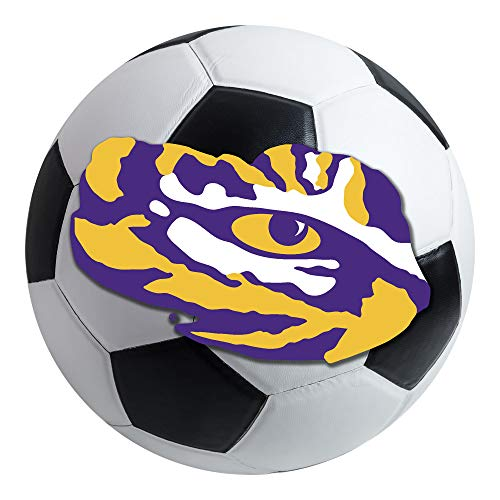 - FANMATS NCAA Louisiana State University Tigers Nylon Face Soccer Ball Rug
