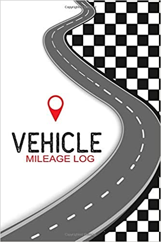 vehicle mileage log track your car mileage automobile log book for