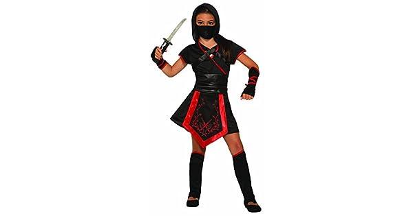 Amazon.com: Disfraz de ninja del dragón para niña: Toys & Games